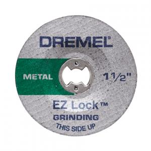 Disco Abrasivo De Óxido De Alumínio Para Metal Dremel