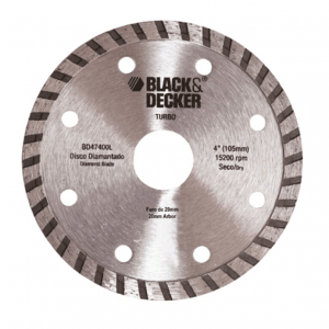 Disco Diamantado Turbo Black&Decker