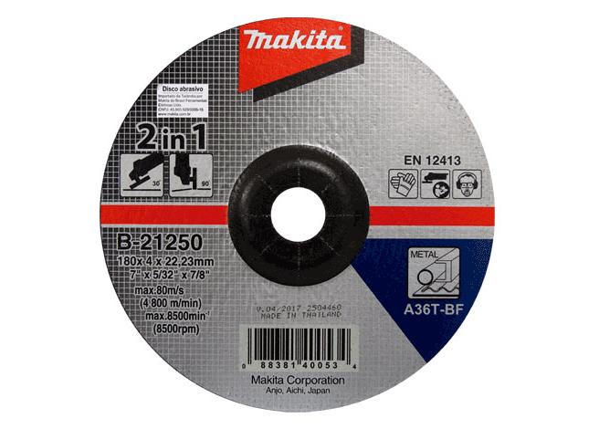 Disco De Corte E Desbaste Makita