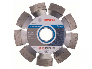 Discos de corte diamantado para pedra Bosch
