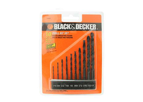 Jogo De Brocas Para Metal Black&Decker